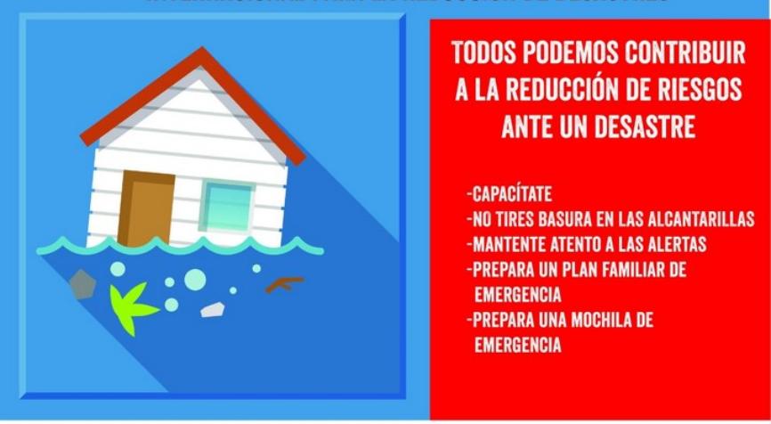 Día Internacional para la Reducción de Desastres